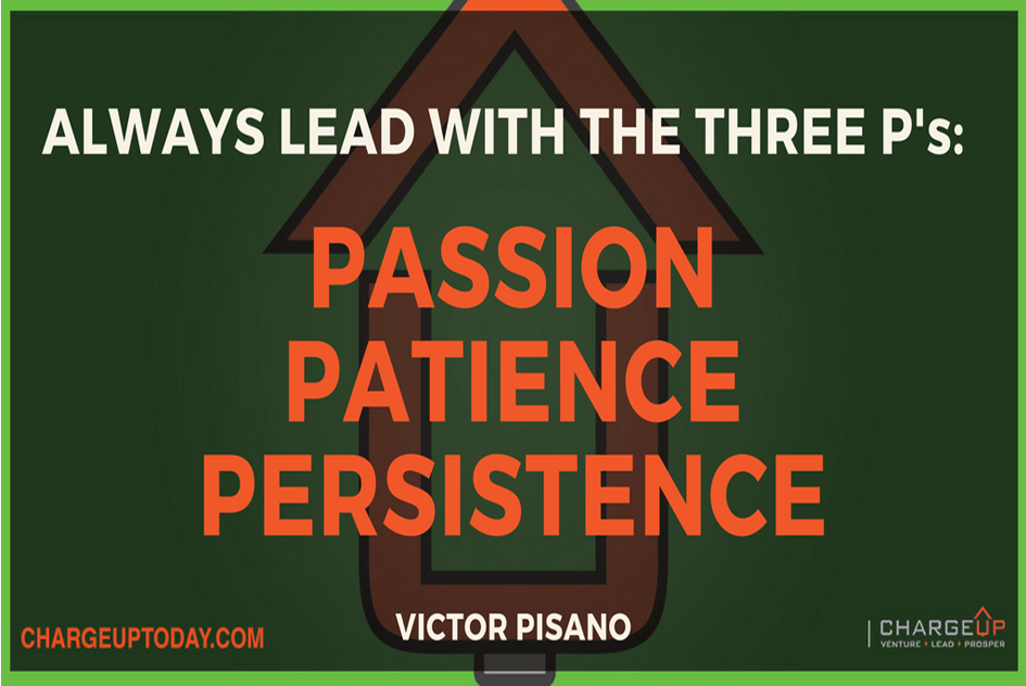 leadership three ps power cast charge up victor pisano