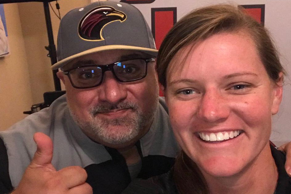 special guest interview Molly Fichtner University of Louisiana Monroe softball coach podcast Power Cast Victor Pisano Charge Up