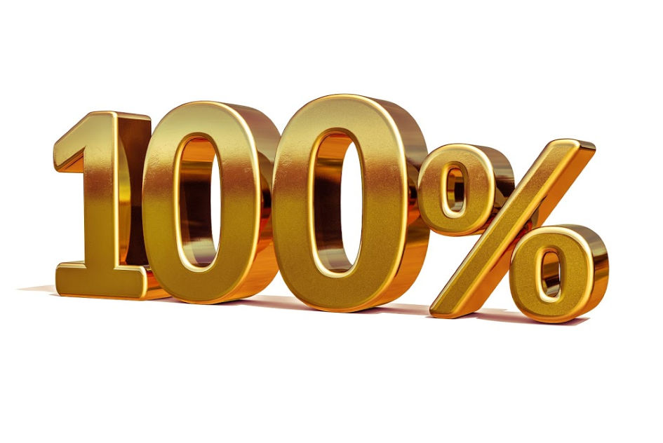 ► What Comes After 100%? Fulfillment!