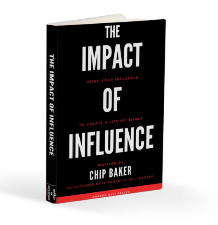 book impact of influence chip baker featuring victor pisano charge up